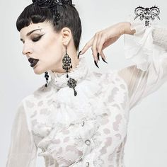 Brand:DEVIL FASHION Material:Polyester Weight:0.04KG Size:One Size Sku:AS08002 Women's Accessories, Gothic, Vintage Fashion, Punk, Wedding Dresses, Lace, Devil, Collection, Style