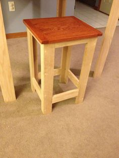 Ana White | Build a Pub Table height stool, modern design | Free and Easy DIY Project and Furniture Plans