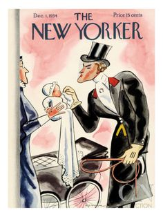 The New Yorker Cover - December 1, 1934 Poster Print by Leonard Dove at the Condé Nast Collection