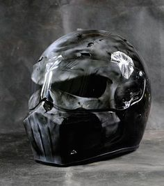 Punisher Motorcycle Helmets - That Is What I Like - Motorrad Badass Motorcycle Helmets, Chopper Motorcycle, Bobber Chopper, Motorcycle Style, Motorcycle Accessories, Triumph Motorcycles, Custom Motorcycles, Custom Bikes, Custom Choppers