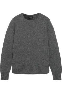 A.P.C. Atelier de Production et de Création - Stirling Wool Sweater - Gray