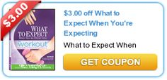 $3.00 off What to Expect When You're Expecting an awesome Coupon for expecting Moms!!