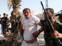Obama's Syrian Rebels Behead Christians Shocking Video Report - The Free Patriot