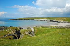 A beautiful sunny view of Sanaigmore Bay in the north west of Islay.