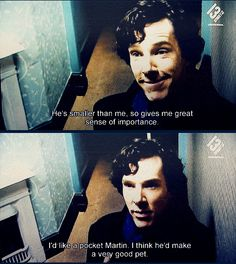 Top of Benedict's Christmas list is a pocket Martin. Gold.