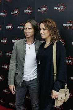 Robert Carlyle and his wife Anastasia Shirley arriving for the screening of California Solo at Cineworld   Flickr - Photo Sharing!
