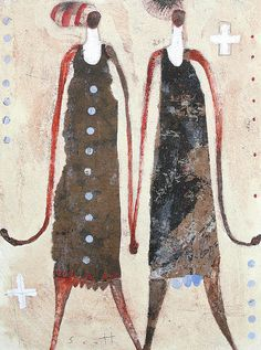 We Are Back by Scott Bergey on Etsy #woman #art