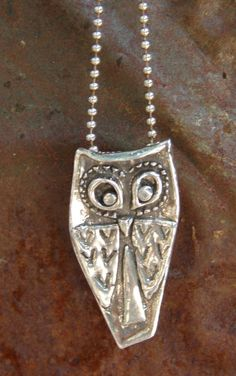 OWL Necklace-Owl Be With You by JUNKPOSSE on Etsy