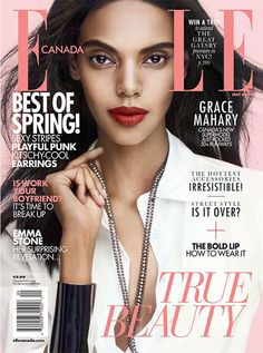 Elle contains helpful articles on trends and tips for women's fashion, beauty and shopping.