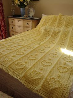 Home is Where the Heart is: ~Sweetheart Blanket~ free pattern jpg  (Prints out just fine. I think this is just beautiful!)