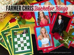 Bringing Up Burns: The #Bachelor Viewing Party Ideas - Food, Drinks, Desserts, Bachelor Bingo, Bachelor Bracket