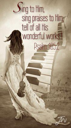 Psalm 105:2