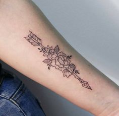 410 Likes, 2 Comments - ira Dream Tattoos, Girly Tattoos, Pretty Tattoos, Life Tattoos, Beautiful Tattoos, Cool Tattoos, Tatoos, Awesome Tattoos, Arrow Tattoo Design