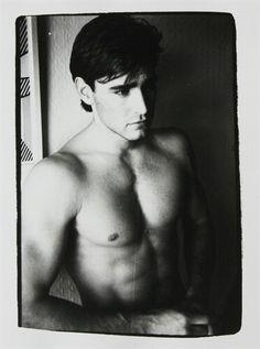 """ Unidentified Man "" Andy Warhol.  Settembre 1982."