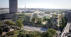 3XN envisioned its entry for the Reinvent Paris competition's Pershing site, one of four finalists, as a playground for all Parisians. The inclusive project ...