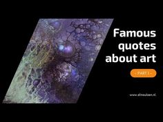 Famous quotes about art, part 1 -  motivational and inspiring art quotes... Motivational, Inspirational Quotes, Bob Ross, Painting Tutorials, Inspiring Art, Your Paintings, Famous Artists, Famous Quotes, Art Quotes