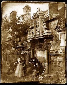 Greyfriars Cemetery Edinburgh  c. 1850s - Back then...