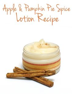 Homemade Apple and Pumpkin Spice Lotion Recipe