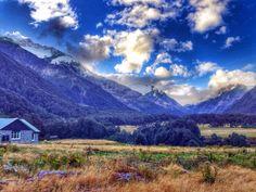 Mount Aspiring National Park, Mt Aspiring National Park, New...