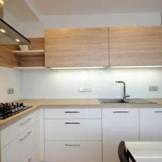 Kitchen Room Design, Kitchen Layout, Interior Design Kitchen, Kitchen Storage, Home Kitchens, Kitchen Remodel, New Homes, Kitchen Cabinets, House