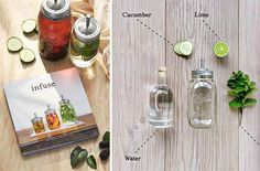 INFUSE: OIL, SPIRIT, WATER | ERIC PRUM --> Check out Infuse: Oil, Spirit, Water, a recipe book with over 50 recipes. This book will get you instructions and tips on how to infuse oils, liquor and water.  #recipes #book #infuse
