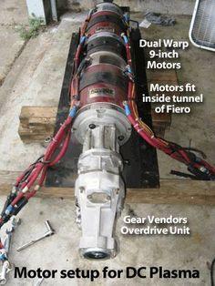 Fiero Dual Motors