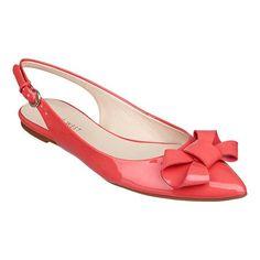 Pointy toe sling back bow flats nine west kilianna...in love!!