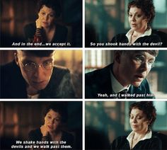 Peaky Blinders Thomas Shelby and Polly Gray
