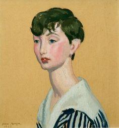 Portrait d'Adolescent, 1923 by Jean DUPAS (French 1882-1964)
