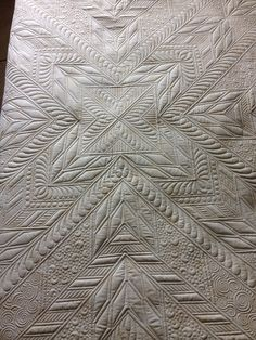 Sewing Machine Quilting, Machine Quilting Designs, Longarm Quilting, Quilting Tips, Free Motion Quilting, Quilting Patterns, Whole Cloth Quilts, Finishing School, White Quilts