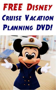 FREE Disney Cruise Vacation Planning DVD!