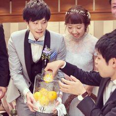 披露宴テーブルラウンドの新定番!果実酒作りのやり方 | marry[マリー]