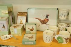 Wrendale Designs, set of 6 coasters, £9.95.  Set of 6 placemats, £22.  Charlie6.