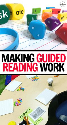 Guided Reading offers students intentional reading instruction with texts that are just a little too hard! From lesson planning to benchmarking students to word work activities, check out these awesome ideas to make Guided Reading work! Guided Reading Lesson Plans, Guided Reading Activities, 1st Grade Activities, Kindergarten Lesson Plans, Reading Games, Teaching Reading, Work Activities, Kindergarten Blogs, Guided Reading Binder