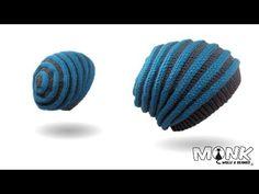 Mütze häkeln - Wurmbeanie - Wurmmütze - YouTube