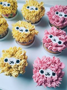 Cake nature fast and easy - Clean Eating Snacks Cupcakes Design, Cute Cupcakes, Kinder Party Snacks, Cupcakes Decorados, Llama Birthday, Cupcake Wars, Gateaux Cake, Partys, Cakes And More