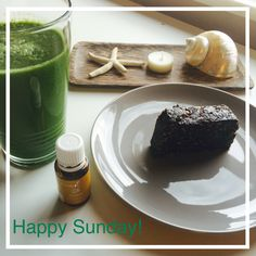 Happy Sunday everybody!   Inspired by a friend I made my first ever green smoothie this morning! It was soo good! How do people live without this?!   I'd like to share this quick and delicious recipe with you:  1 banana 2 cups baby spinach 1 cup grapes  1/2 cup water  1 drop Young Living Lemon essential oil   Go and try, beautiful people! Please don't hesitate to contact me, should you have any questions!   YL#2897104