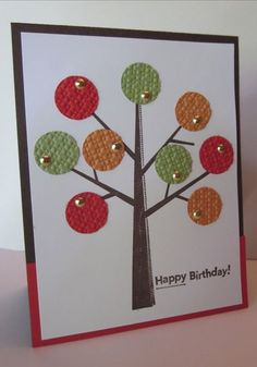 How cute is this? ~ this site has lots of punch art ideas. flowerbug.typepad.com