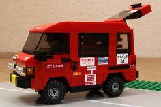 LEGO MOC JP Postal van Ver1.0 | 1103 S.p.A | Flickr