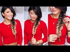 The Fishtail Braid: 8 Hairstyles for Long Hair | Meraki Lane