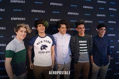 CD9 en la Alfombra Azul del #AerofestMx 2016 | #Aeropostale #AeropostaleMX #AeroFallMx