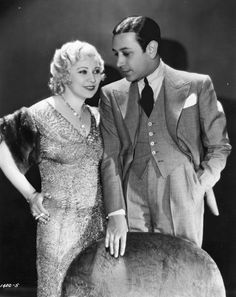 Mae West and George Raft in Night After Night, 1932.