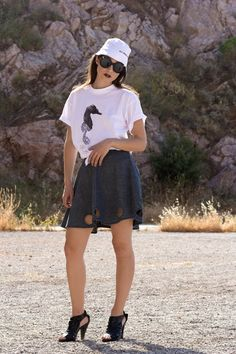 Denim Skirt Circles Game by BRAINSHOT on Etsy