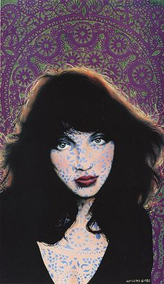 Catherine (Kate Bush) - limited edition print by David Welling