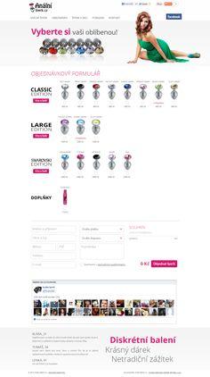 Webshop společnosti MARKO FAMILY LTD., prodej erotické pomůcky. #webdesign
