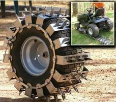 ~ Living a Beautiful Life ~ Aerator tire-covers? Perhaps a good idea, but keep…