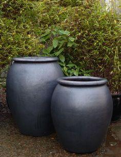 Garden Ideas Large, Large Garden Pots, Big Garden, Garden Art, Tree Planters, Outdoor Planters, Planter Pots, Back Gardens, Small Gardens