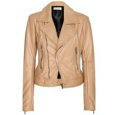 Balenciaga - Leather biker jacket - mytheresa.com, $2550, lamb, viscose lining