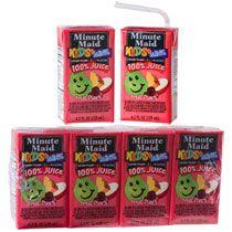 Bulk Minute Maid Kids+ Minis Fruit Punch Juice Boxes, 4-ct. Packs at DollarTree.com