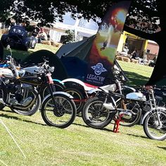 Wot a weekend. Back at HQ dreaming of the tent side paddock. #mallemile #mallemile2017 #themile #gardeningdoneright #bikes #ride #race #yamaha #triumph #matchless #w800 #tents #campout #pasttracks